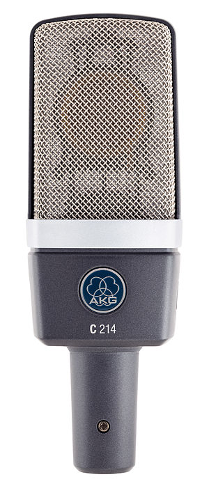 AKG Acoustics - The AKG C214 condenser microphone