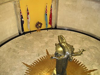 Rayner Hoff - Sacrifice, ANZAC War Memorial