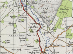 A 20th century map of Fakenham Magna.png