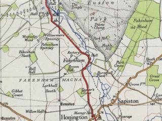 Fakenham Magna Human settlement in England