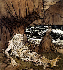 A Crowned Merman - Arthur Rackham.jpg