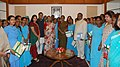A Group of Women from Sulabh International Social Service Organization from Alwar led by the Founder, Sulabh Sanitation and Social Reform Movement, Dr. Bindeshwar Pathak met the Speaker, Lok Sabha, Smt. Meira Kumar.jpg