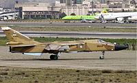 A IRIAF Su-24 ready to takeoff from THR.jpg