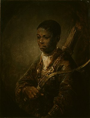 A Young Archer - Image: A Young Archer by Govaert Flinck