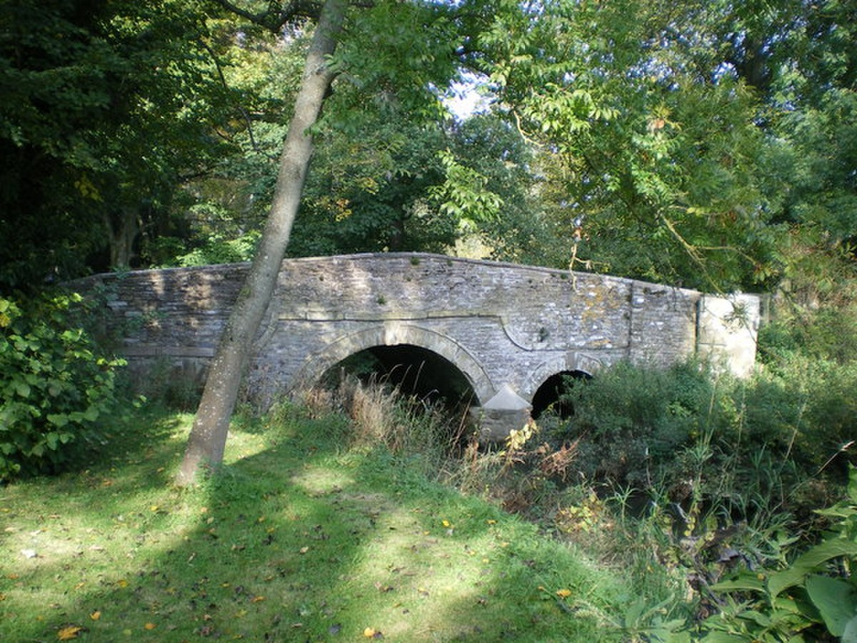A bridge over the River Kemp at Kempton - geograph.org.uk - 1004206.jpg