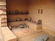 A reconstructed israelite house, Monarchy period3