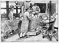 A surgical operation on the knee of an elderly woman. Soft-g Wellcome L0028357.jpg