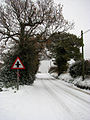 A wintry Church Road - geograph.org.uk - 1056300.jpg