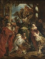 L'Adoration des mages (Rubens, Anvers, 1624)