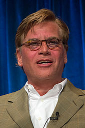 Photo of Aaron Sorkin attending PaleyFest 2013.