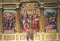 Abbaye de Leyre, retable des saintes Élodie et Nunilone.JPG