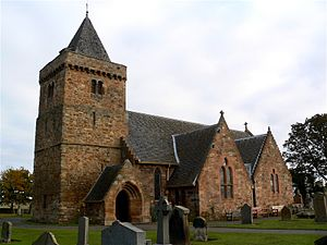 Aberlady - Image: Aberlady Church