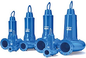 The ABS EffeX range of submersible sewage pump...