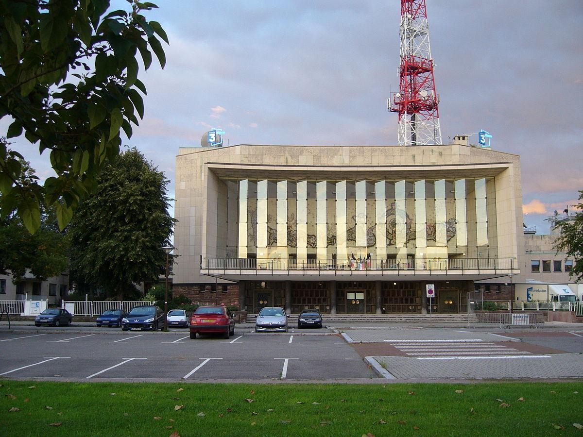 Maison de la radio strasbourg wikip dia for Adresse maison de la radio