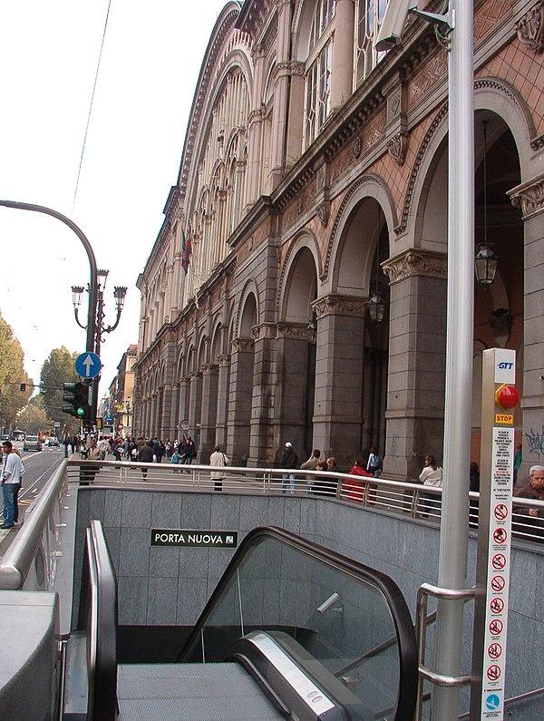 Turin metro stations - Turin porta nuova ...