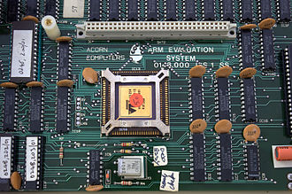 ARM architecture - The ARM1 second processor for the BBC Micro