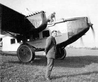 Rohrbach Metall-Flugzeugbau - Rohrbach Ro-VIIIa Roland at Geneva-Cointrin airport (1929)