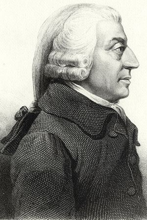 "Scotland in the modern era - Adam Smith. the ""father of modern economics"""