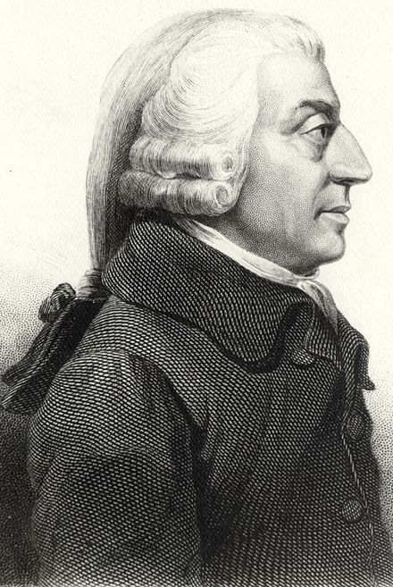 Scottish Enlightenment philosopher Adam Smith was an early enemy of cartels. AdamSmith.jpg