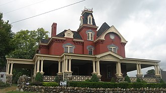 Uniontown, Pennsylvania - Adam Clarke Nutt Mansion