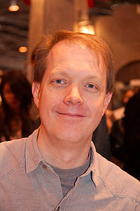 Roberts at Salon du livre 2008 (Paris, France)