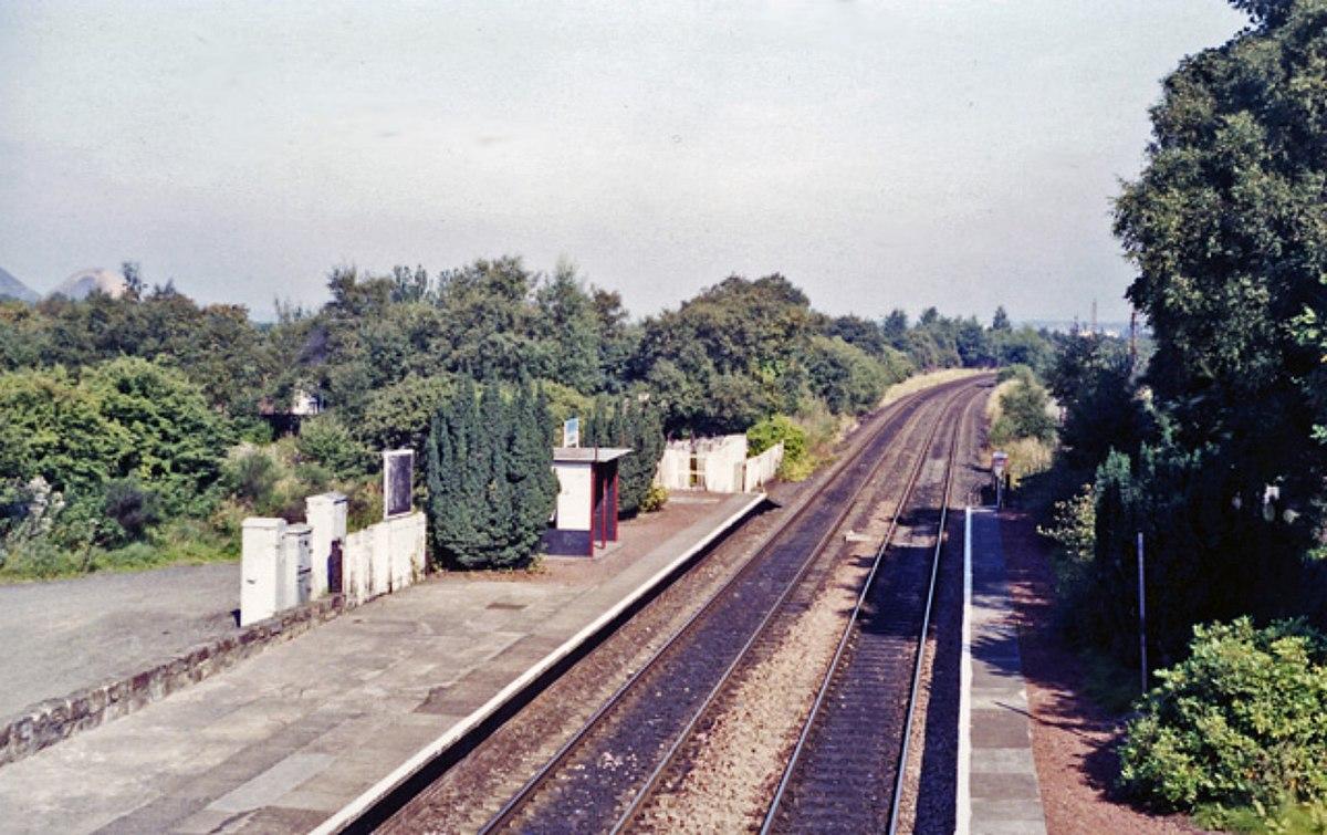 Addiewell railway station Wikipedia