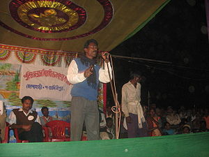 Chatradhar Mahato was the adivasi leader who's...