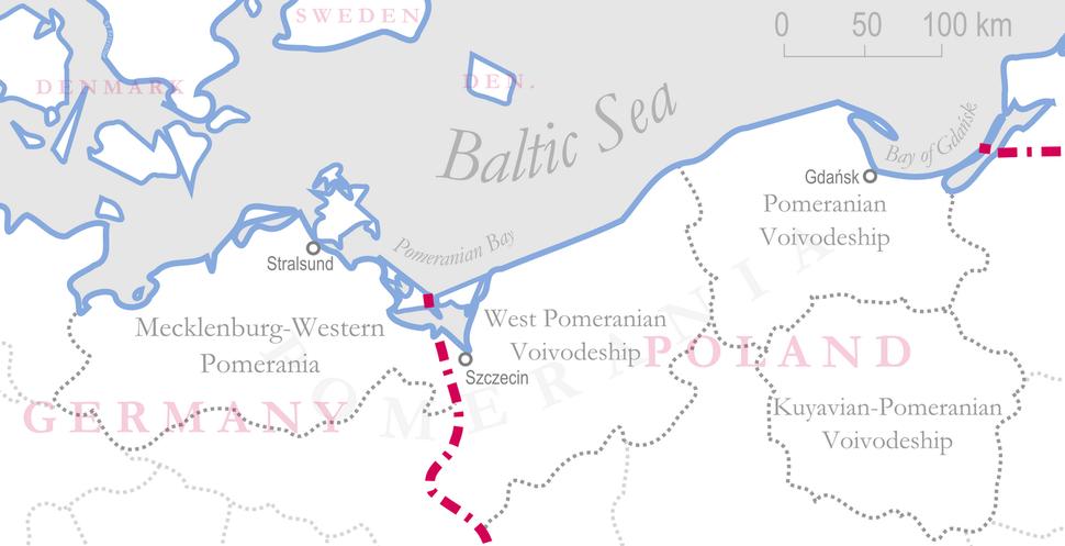 Administrative division of pomerania