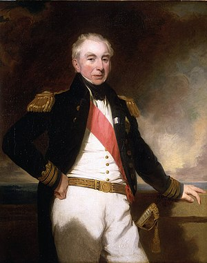 Robert Stopford (Royal Navy officer) - Admiral Sir Robert Stopford, c. 1840, by Frederick Richard Say, from the National Maritime Museum, Greenwich, London