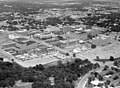 Aerial view of University of Texas at Arlington campus and construction (10009378).jpg