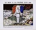 Affiche vichyste - Le don à la patrie juin 1940.jpg