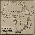Africa about the middle of the 19th Century, H. G. Wells' Outline of History, page 522.jpg