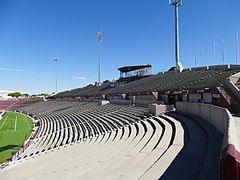 Aggie Memorial Stadium - East Side Stands & Skybox Construction 01