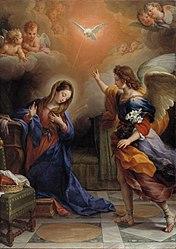 Agostino Masucci: The Annunciation