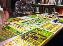 Description de l'image Agricola jeu.jpg.