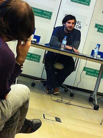 Derek Ahonen - Ahonen lecturing in Madrid