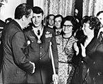 Air Force Col. Leo K. Thorsness with President Richard Nixon.jpg