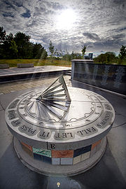 The Air India Memorial in Toronto, Canada dedicated to the victims of Air India Flight 182.
