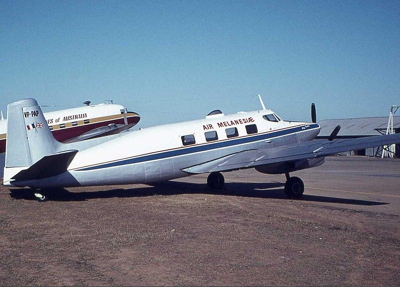 Air Melanesiae De Havilland Australia DHA-3 Drover Mk3 BWU Wheatley-2.jpg