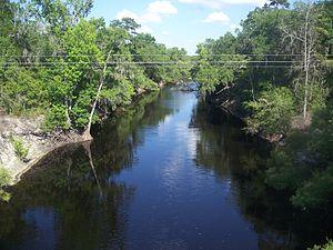 Santa Fe River (Florida) - Image: Alachua Union FL Santa Fe River east 02