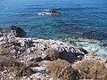 Alanya-Mahmutlar -Kargicak -Südöstliche Ende Türkische Riviera -Glasklares Wasser zum Schnorchel - panoramio.jpg