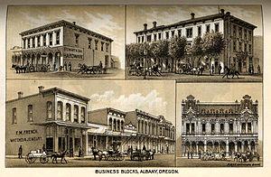 Albany, Oregon - Albany, Oregon, 1887