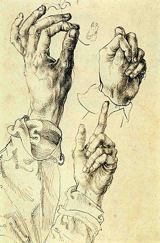 dürer hand