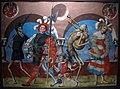 Albrecht kauw, copia della perduta danza macabra di m.manuel del cimitero domenicano di berna (1512-20), 1649, 20.JPG