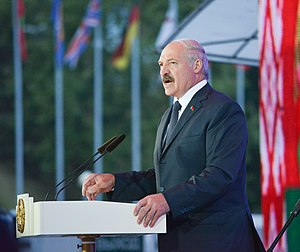 Alexander Lukashenko, opening of Slavianski Bazar 2014