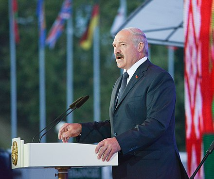 Alexander Lukashenko has ruled Belarus since 1994, and is Europe's longest currently ruling elected head of state. Alexander Lukashenko, opening of Slavianski Bazar 2014.jpg