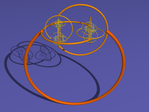 Alexander horned sphere - Alexander horned sphere