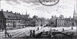Alexanderplatz - Alexanderplatz in 1796