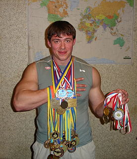 Alexey Vishnitsky Russian weightlifter