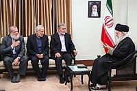 Ali Khamenei met with Ziyad Al-Nakhaleh01.jpg